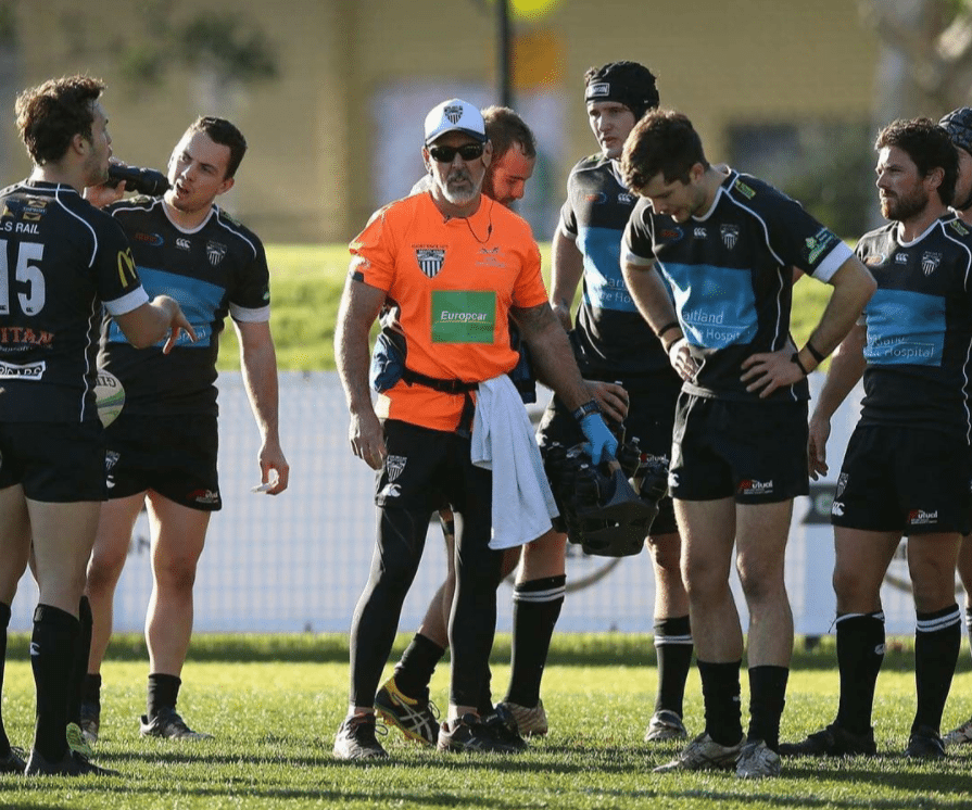 Photos of Mick Sager sports trainer Hunter Valley